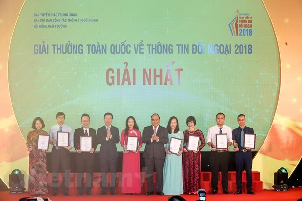 VietnamPlus gana primer titulo del Premio Nacional de Informacion al Exterior hinh anh 2