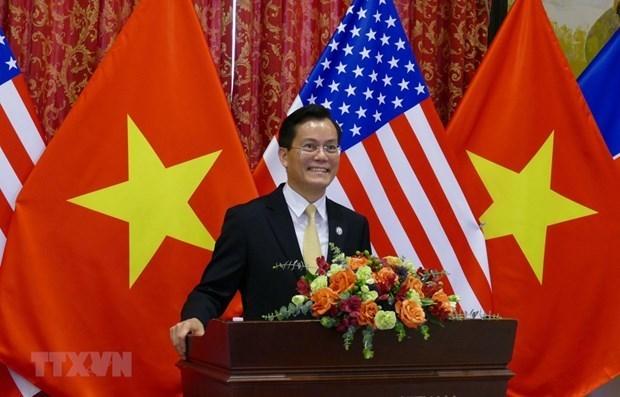 Vietnam y Estados Unidos debaten medidas para promover asociacion integral hinh anh 1