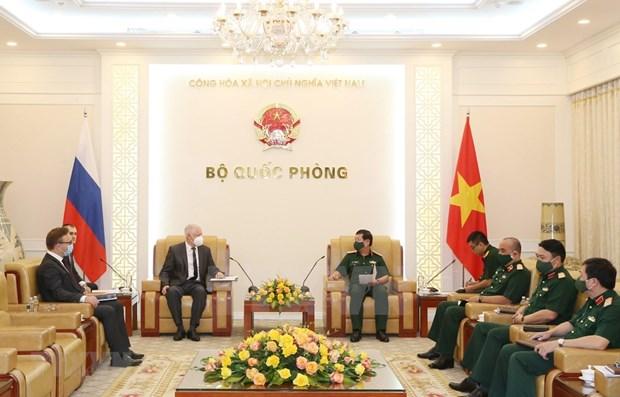 Vietnam y Rusia robustecen vinculos tecnico-militares hinh anh 1