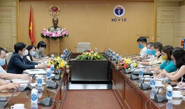 UNICEF se compromete a apoyar el rapido acceso de Vietnam a las vacunas contra COVID-19 hinh anh 1