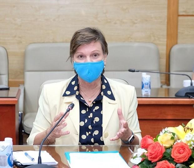 UNICEF se compromete a apoyar el rapido acceso de Vietnam a las vacunas contra COVID-19 hinh anh 2