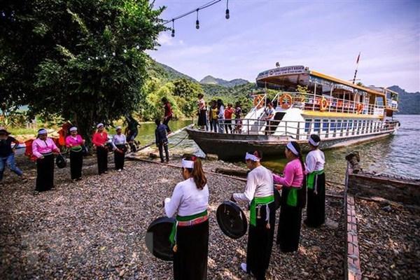 Bac Giang se esfuerza por desarrollar el turismo comunitario hinh anh 1