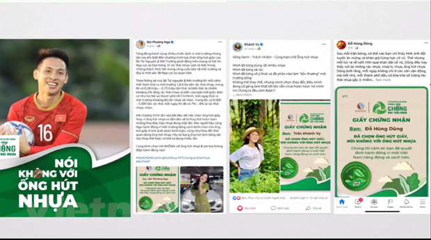 Di NO a las pajita de plastico por un Vietnam verde hinh anh 1