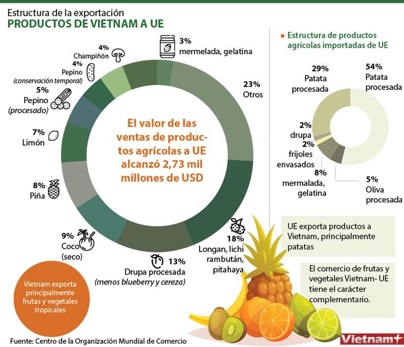 Estructura de la exportacion de productos de Vietnam a UE hinh anh 1