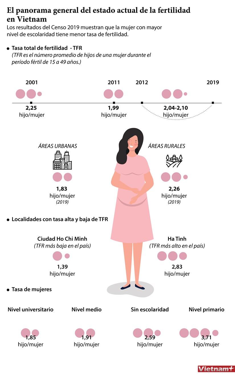 El panorama general del estado actual de la fertilidad en Vietnam hinh anh 1