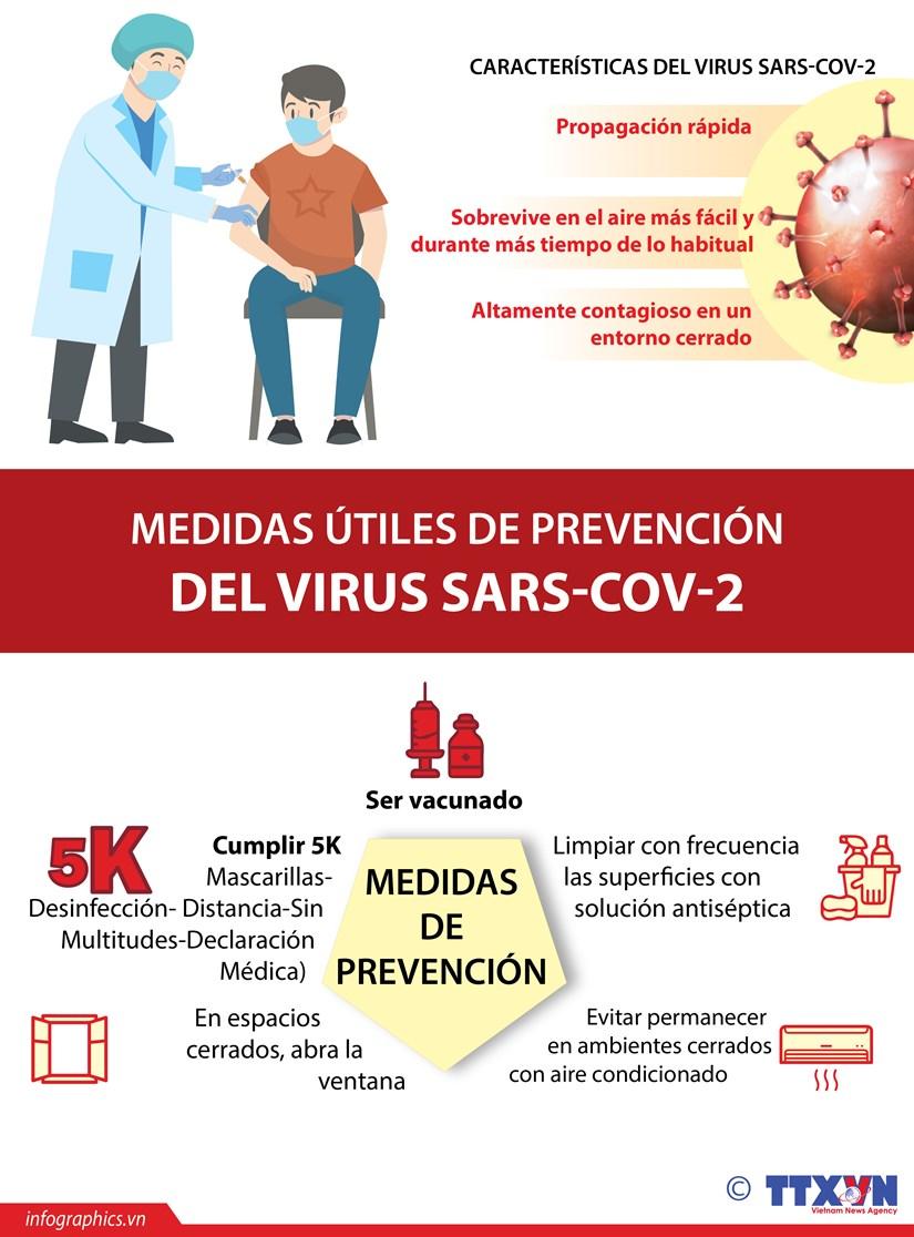 Medidas de prevencion del virus SARS-CoV-2 hinh anh 1