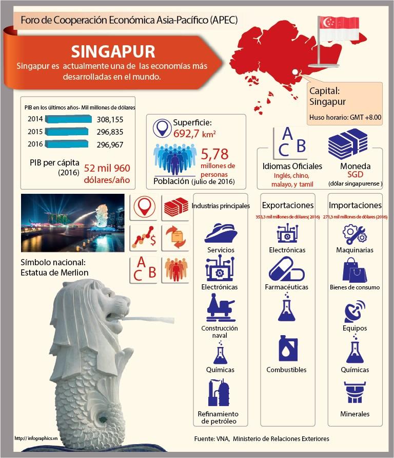 Singapur, uno de los miembros del APEC hinh anh 1