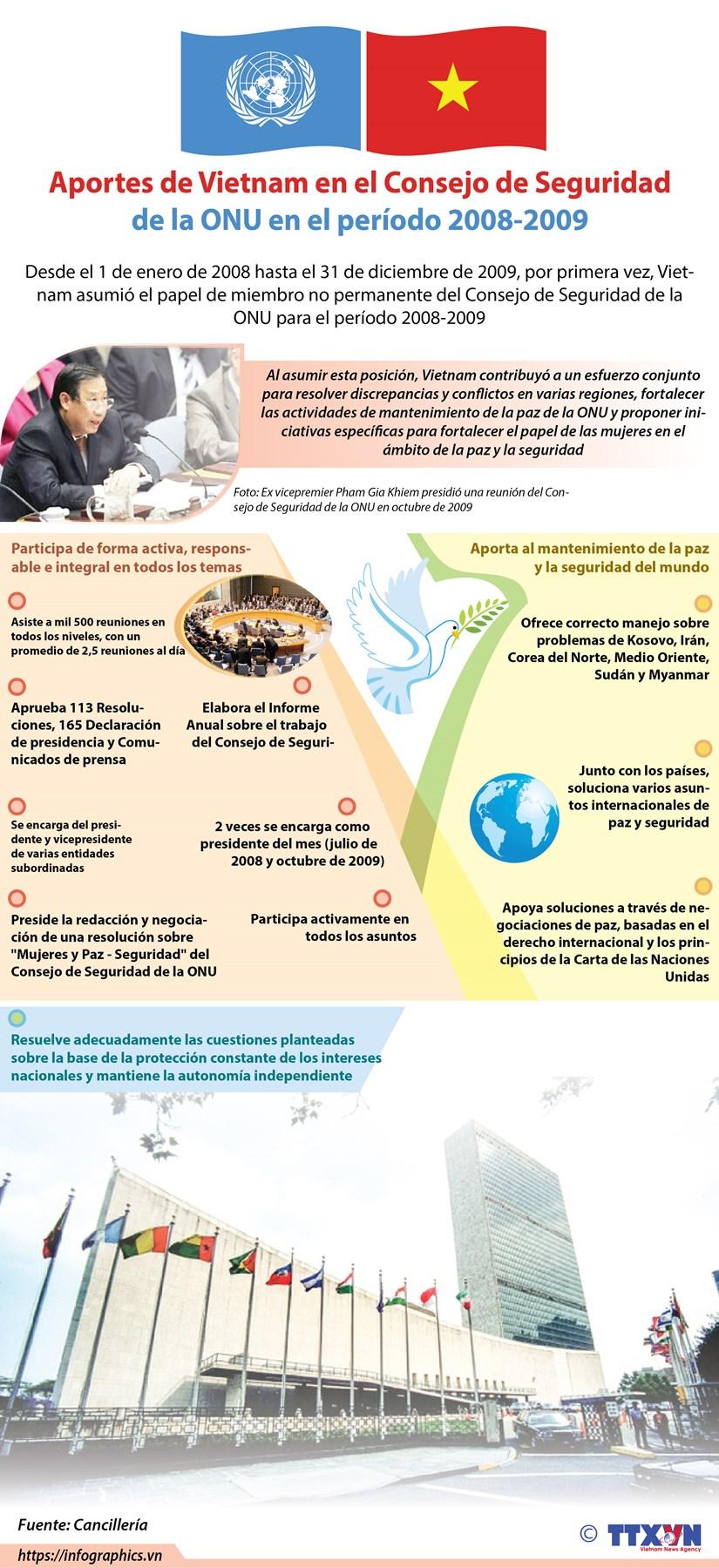 [Info] Aportes de Vietnam en el Consejo de Seguridad de la ONU en el periodo 2008-2009 hinh anh 1