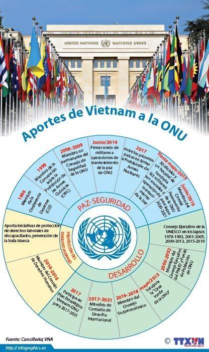 [Info] Aportes de Vietnam a la ONU hinh anh 1